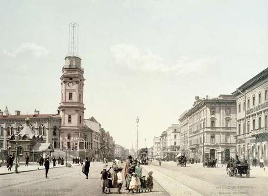 Nevsky Prospekt, St. Petersburg
