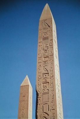The Obelisks of Tuthmosis I