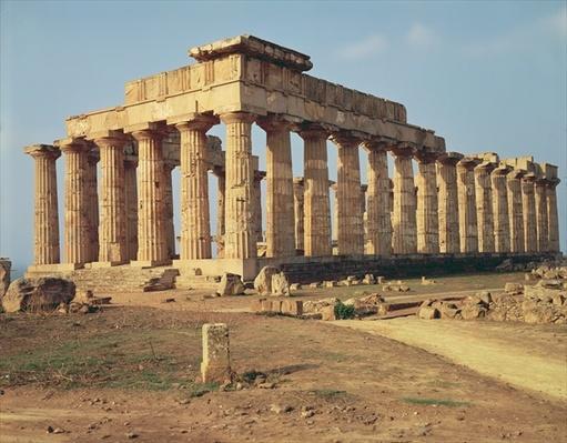 View of Temple E, c.490-480 BC