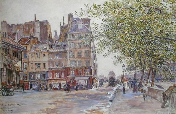 The Quai des Orfevres, 1906