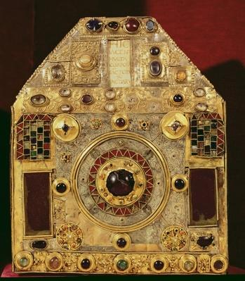 Phylactery or pentagonal reliquary, 10th-11th century