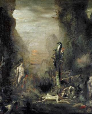 Hercules and the Lernaean Hydra, after Gustave Moreau, c.1876