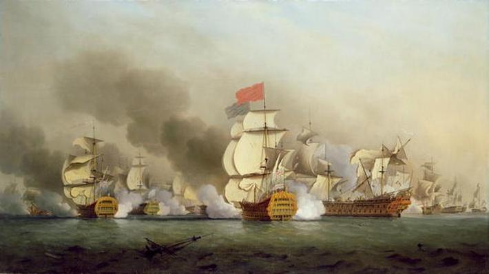 Vice Admiral Sir George Anson's