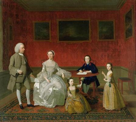 The Buckley-Boar Family, c.1758-60
