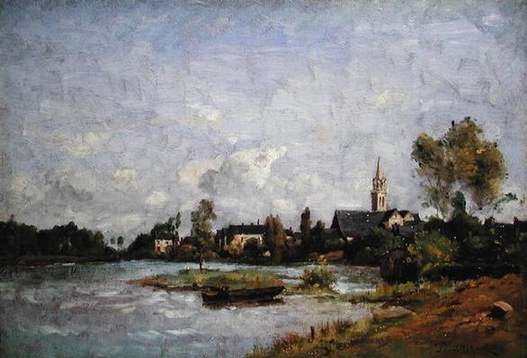 A Village by a River