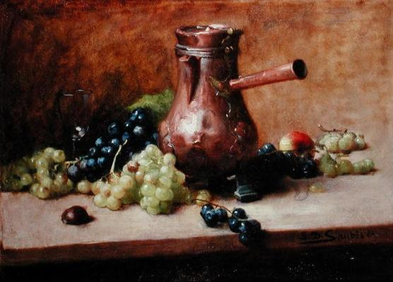 Still Life with Grapes, 1881