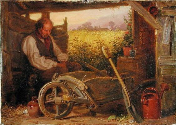 The Old Gardener, 1863