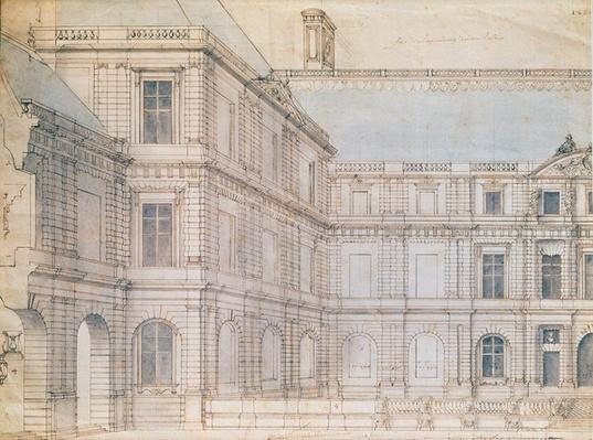 North Facade of the Palais de Luxembourg