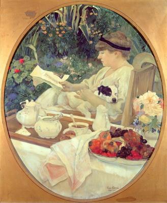 Tea in the Garden, 1910