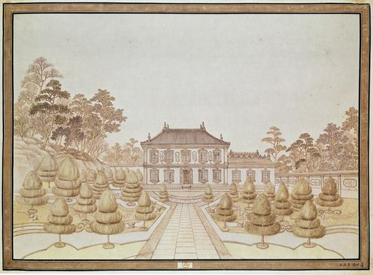 One of the 36 Palaces of the Emperor at Yuen Ming Yuen, built by Benoit in 1750