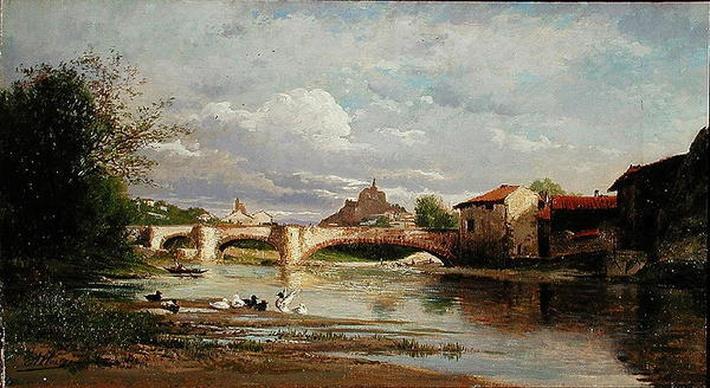 Bridge with ducks, 1872