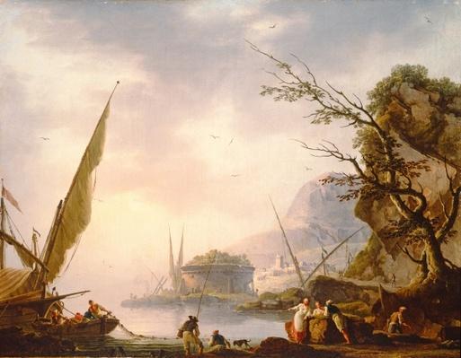 A southern coastal scene, 1753