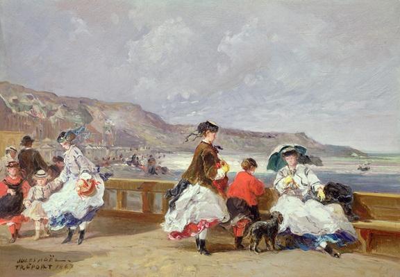 Le Treport, 1867