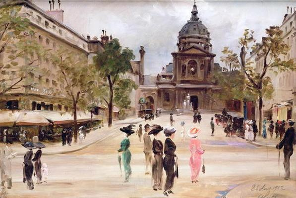 The Sorbonne, Paris, 1912