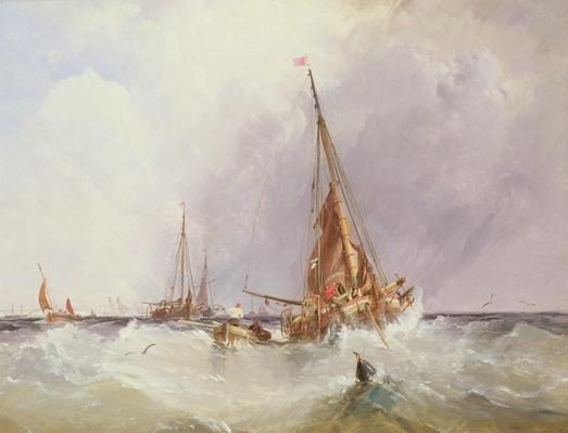 Shipping in the Solent, 19th century