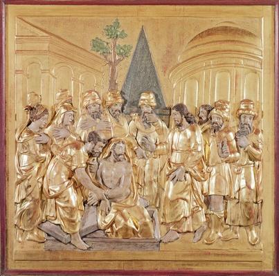 Altarpiece depicting the Resurrection of Lazarus