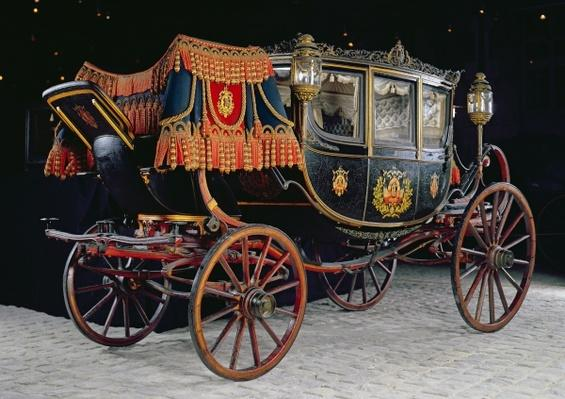 Carriage built for the Tsar for the Gala de l'Elysee in 1896, c.1895
