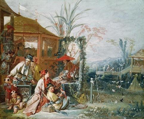 The Chinese Hunt, c.1742