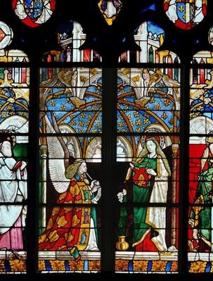 The Annunciation, from the Chapel of Jacques Coeur,