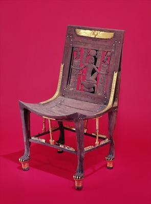 Chair, from the Tomb of Tutankhamun