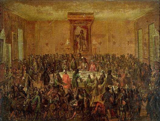 Banquet Given in Honour of Louis XIV