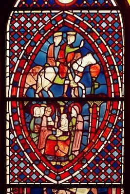 The Magi, from Saint-Germain-des-Pres or Sainte-Chapelle