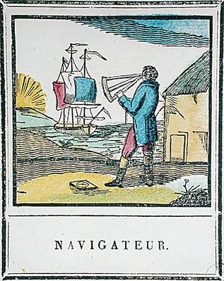The Navigator, plate 528 from 'Les Petits Metiers'