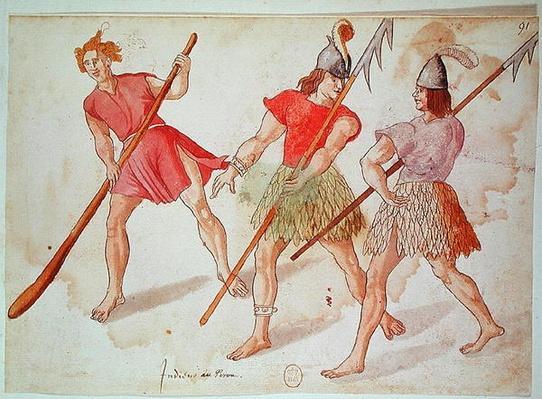 Peruvian Indians, 1572