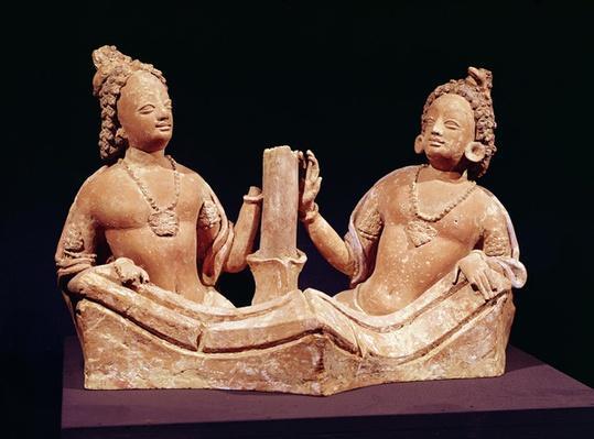 Two Naga, from Fondukistan