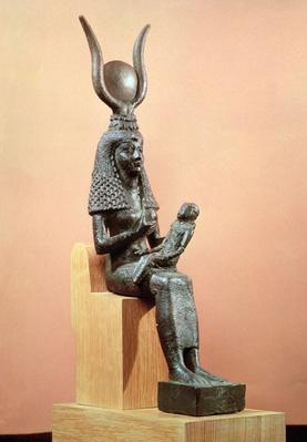 Isis suckling the infant Horus