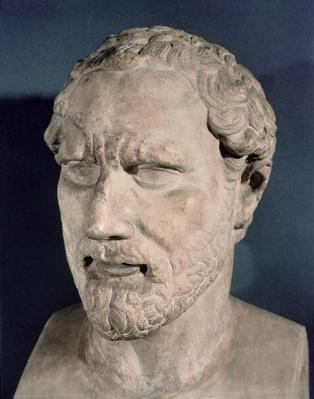 Bust of Demosthenes