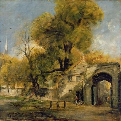 Harnham Gate, Salisbury, c.1820-21