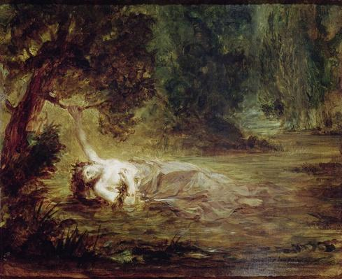 The Death of Ophelia, 1838
