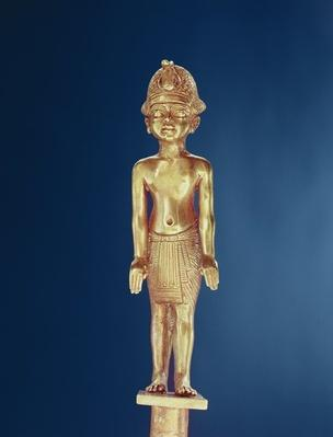 Figure of the king, from the Tomb of Tutankhamun