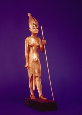 Statuette of the king, from the Tomb of Tutankhamun