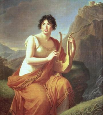 Madame de Stael as Corinne, 1809
