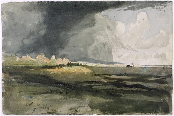 At Hailsham, Sussex: A Storm Approaching, 1821