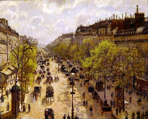 Boulevard Montmartre, Spring, 1897