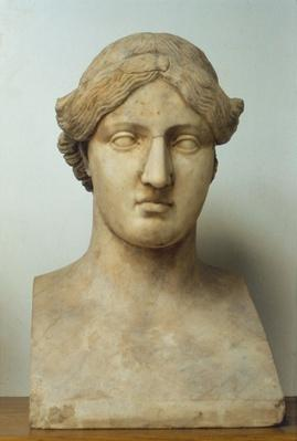 Portrait bust of Sappho