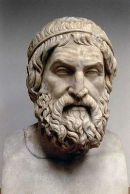 Portrait bust of Sophocles