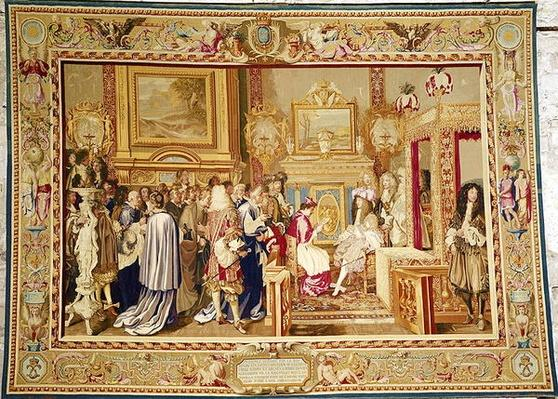 The Audience of Cardinal Chigi with Louis XIV