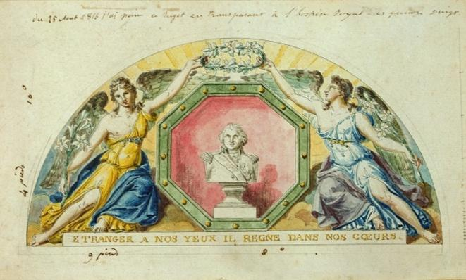 'Unfamiliar to our Eyes, He Rules in our Hearts': Visit of Louis XVIII