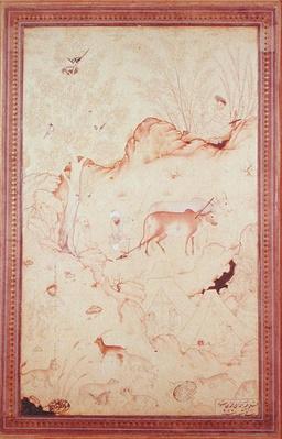 Scene of Rustic Life, Qazvin, 1578