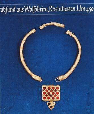 Pendant, from the Wolfsheim Tomb Treasure, c.378