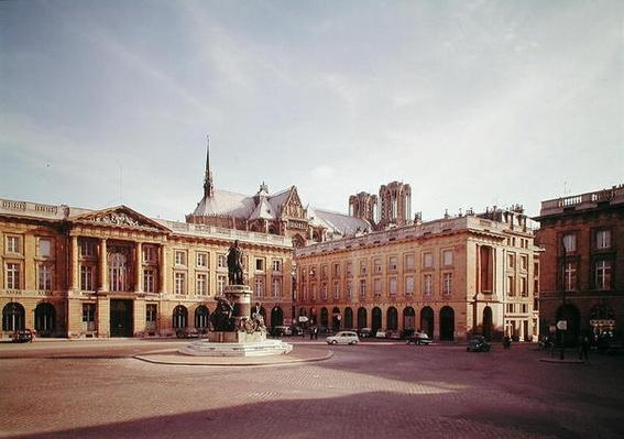View of the south side of the Place Royale