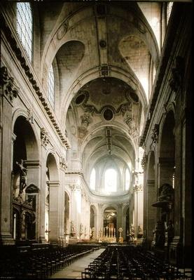 View of the nave towards the choir, built between 1646-1780