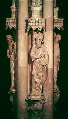 St. Luke the Evangelist, from the Angel's Pillar, after 1280