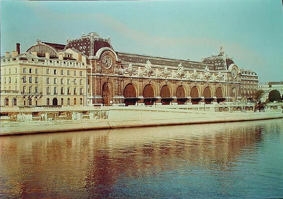 View of the Gare d'Orsay