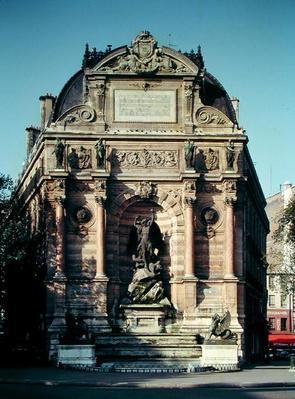 The Fontaine Saint-Michel, 1860