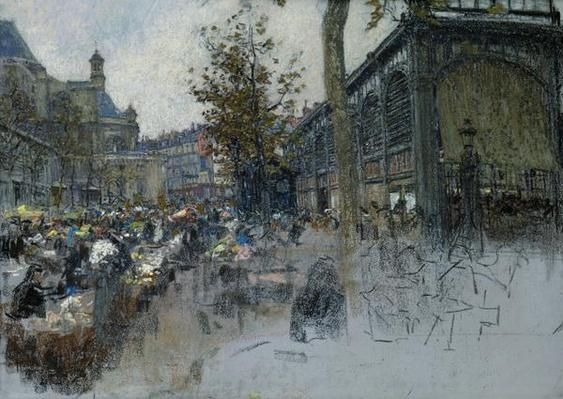 Study for Les Halles, 1893